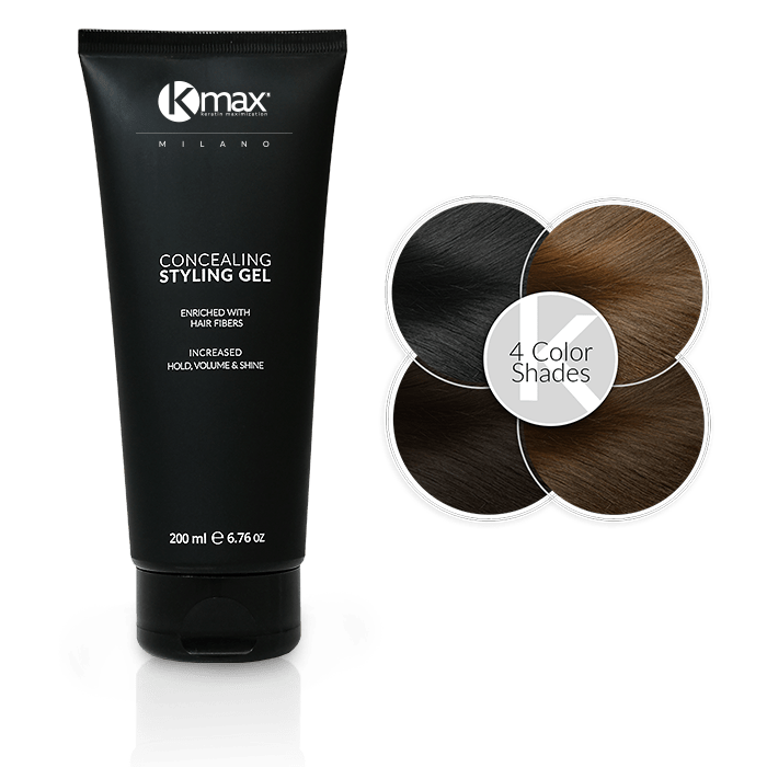 kmax concealing styling gel 4 shades