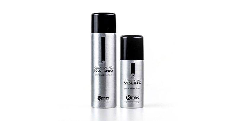 kmax color spray για κάλυψη λευκών και γκρίζων μαλλιών