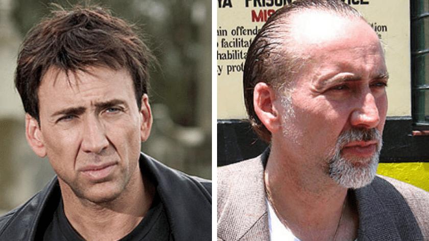 Ο Nicholas Cage έχει αρκετή αραίωση λόγω τριχόπτωσης